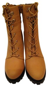 Jennifer Lopez Wheat Boots