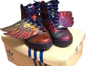 Jeremy Scott Multicolored, purple Athletic