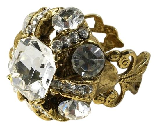 Preload https://img-static.tradesy.com/item/15955999/antique-gold-clear-swarovski-crystals-articulated-ring-0-2-540-540.jpg
