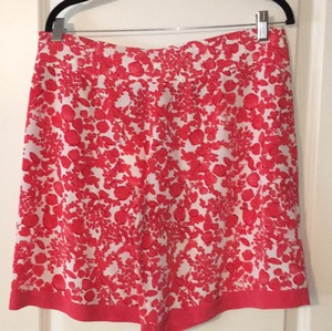 Tory Burch Dress Shorts Red Pepper Issy