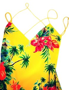 Ralph Lauren Collection Summer Cocktail Island Style Carribean Dress