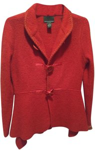 Cynthia Rowley Wool Red Blazer