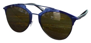 Dior Blue Reflected Aviator Sunglasses