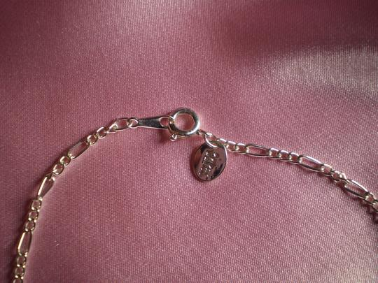 Claire's Like new Silvertone chain bracelet