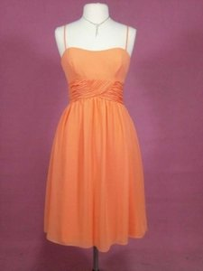 Alfred Angelo Chiffon 7018 Formal Bridesmaid/Mob Dress Size 8 (M)