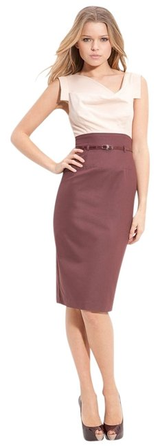 Preload https://item1.tradesy.com/images/black-halo-tan-maroon-cocktail-dress-size-6-s-159570-0-0.jpg?width=400&height=650