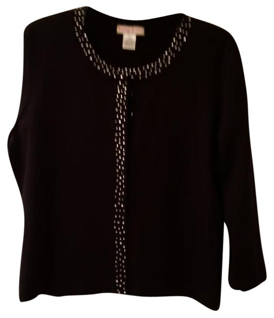 Item - Cardigan with Crystals Black Sweater