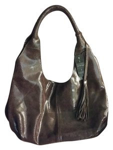 maxine couture Leather Large Brand New Hobo Bag