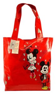 Disney Parks Mouse Minnie Mouse Tote in red