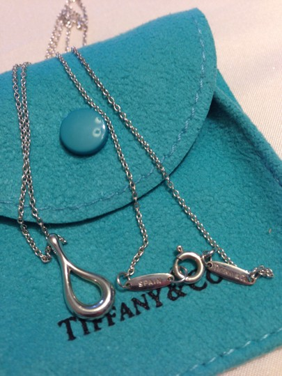Tiffany & Co. T&Co. Elsa Peretti Open Teardrop Necklace