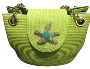 Eric Javits Tote in Lime green