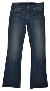 Levi's Curvy 528 Casual Boot Cut Jeans-Distressed
