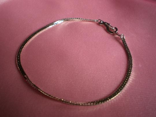 Unknown Silver snake chain bracelet