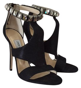 Jimmy Choo Black suede Platforms