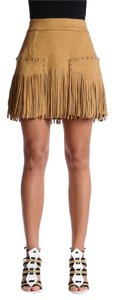 Just Cavalli Mini Skirt Brown