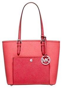 Michael Kors Free Shipping Tote in Coral & Watermelon