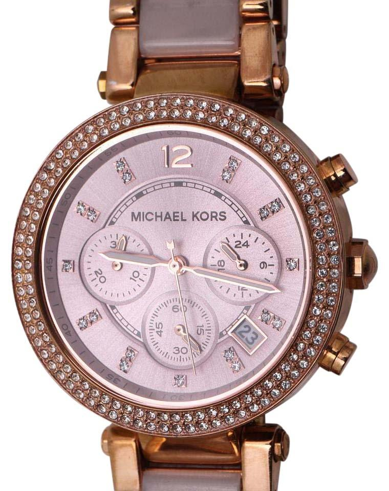 4ea1c23d36be Michael Kors   Michael Kors Parker Rose Gold Watch MK-5896 Image 0 ...