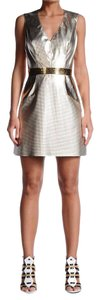 Just Cavalli short dress Sparkle Gold on Tradesy