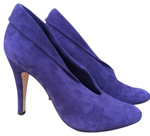 Steven by Steve Madden Suede Ankle Purple Boots