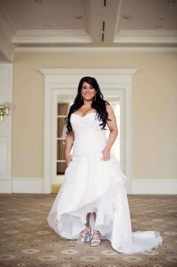 Touch Ups White Bridal Formal Size US 8