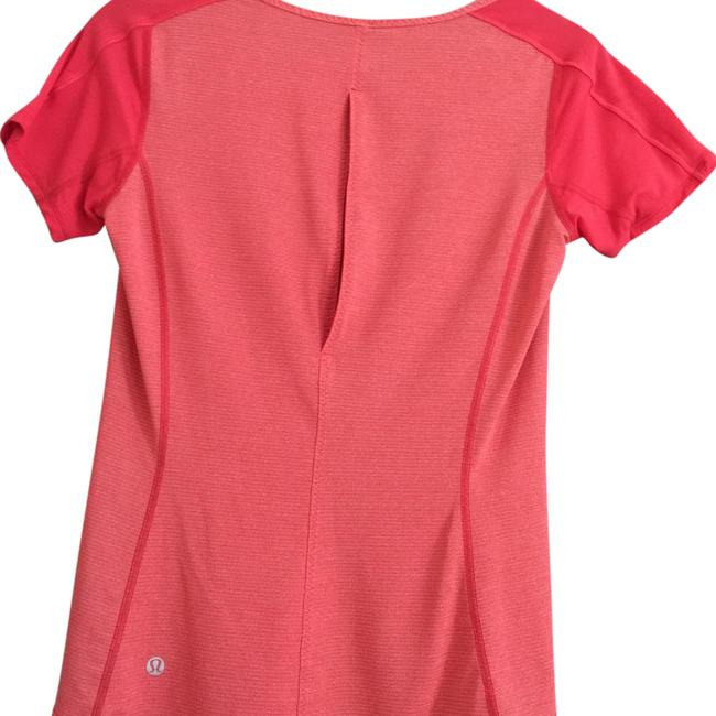 Item - Orange Run Fast with Slit In Back Activewear Top Size 4 (S, 27)