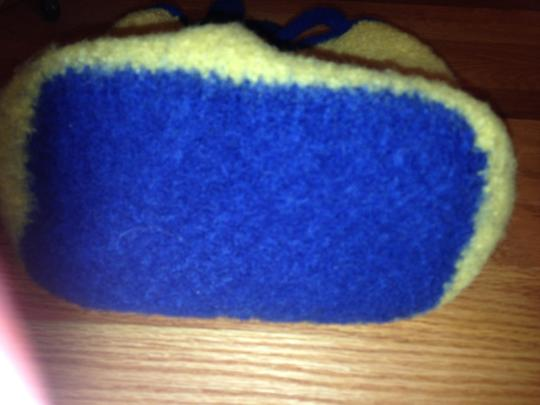 Other yellow & blue Travel Bag