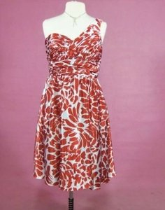 Alfred Angelo Burnt Orange/Cream 7059 Dress