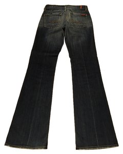 7 For All Mankind Seven Boot Cut Jeans-Medium Wash