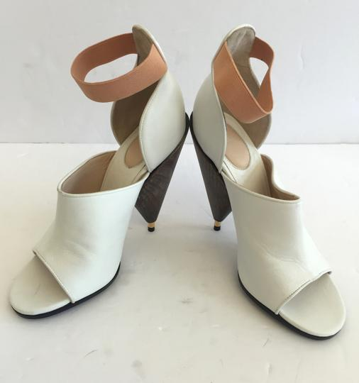 Givenchy High Heel Summer White Sandals