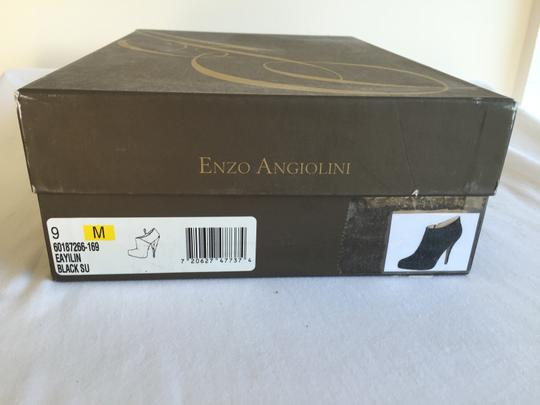 Enzo Angiolini black suede Boots