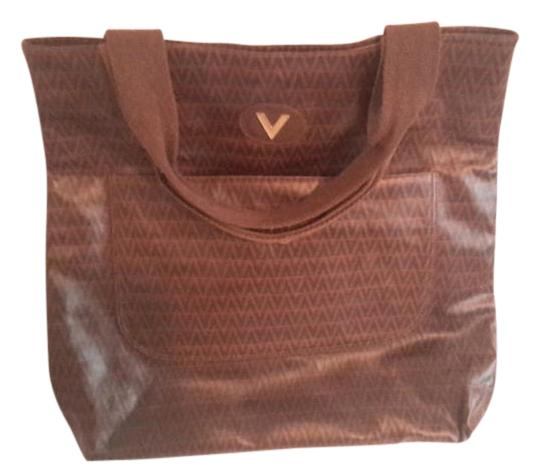 Preload https://img-static.tradesy.com/item/15961231/mario-valentino-monogram-brown-canvass-tote-0-1-540-540.jpg