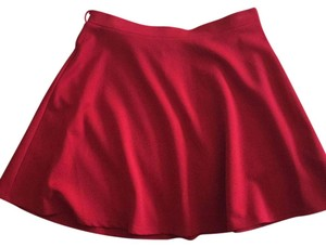 New Look Mini Skirt Red