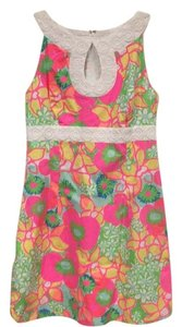 Lilly Pulitzer short dress White, Pink, Yellow, Orange, Blue, Green on Tradesy