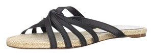 Delman Leather Black Sandals