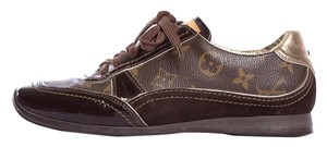 Louis Vuitton Brown, Gold, Tan Athletic