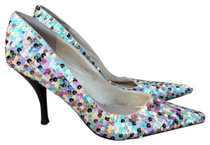 Steve Madden Sequin Pointy-toe Multicolor Pumps