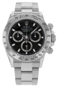 Rolex Rolex Daytona Cosmograph 116520BLK Stainless Steel Automatic (13004)