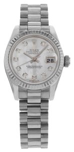 Rolex Rolex Datejust President 179179mdp 18K White Gold Automatic (13070)