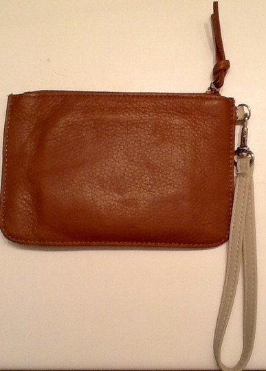 Kenneth Cole Wristlet in Brown & Tan