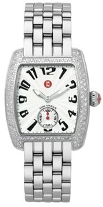 Michele NEW Authentic Michele Urban Mini Diamond Stainless Steel MWW02A000124 Watch