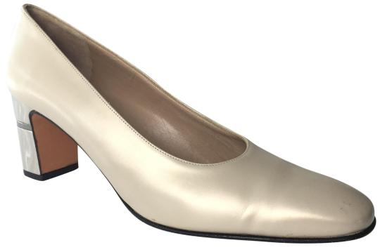 Preload https://item2.tradesy.com/images/salvatore-ferragamo-pearl-chunky-heel-pumps-size-us-9-narrow-aa-n-15963721-0-3.jpg?width=440&height=440
