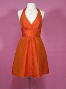 Alfred Angelo Orange Sunset 7102 Dress