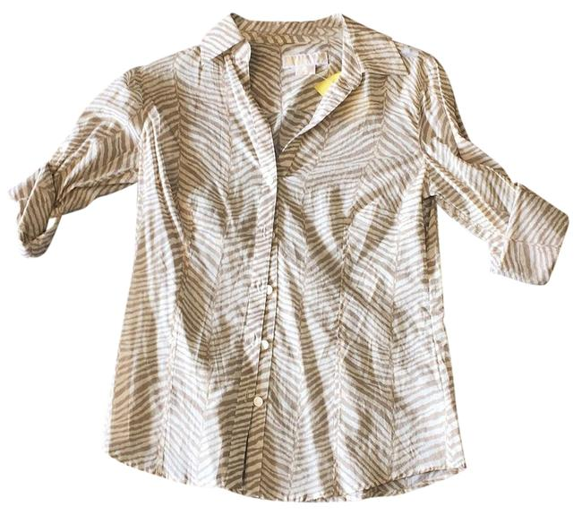 Preload https://item2.tradesy.com/images/michael-kors-blouse-size-4-s-15964006-0-1.jpg?width=400&height=650