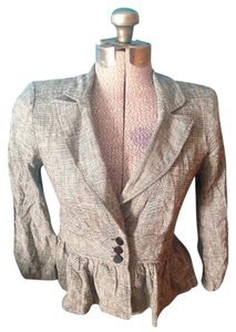 Candie's Linen Cotton Polyester Jacket
