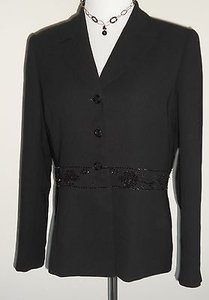 Nipon Boutique Dress Black Jacket