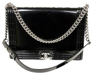 Chanel Caviar Jumbo Cambon Espadrille Cc Shoulder Bag