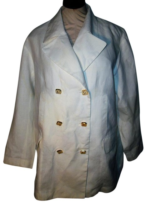 Preload https://img-static.tradesy.com/item/15964630/white-linen-double-breasted-spring-jacket-size-14-l-0-2-650-650.jpg