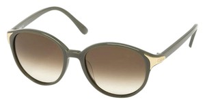 Chloé Gold Accent Oversized Round Frame