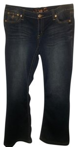 Seven7 Flare Leg Jeans-Light Wash