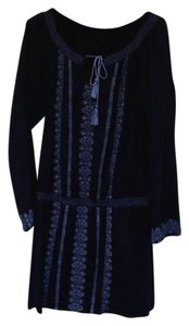 Lucky Brand short dress Dark Blue on Tradesy
